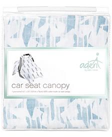 Baby Boys Retro Cotton Car Seat Canopy