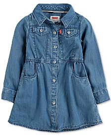 Levi's® Baby Girls Denim Dress