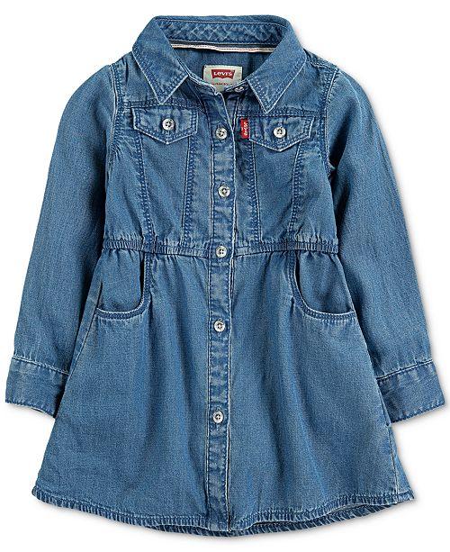 Levi's Baby Girls Denim Dress