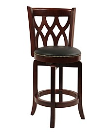 "Cathedral Collection 24"" Swivel Barstool"