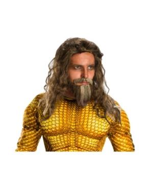 Men's Aquaman Movie Adult Aquaman Beard and Wig Set