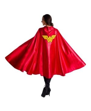 Women's Dc Comics Superheroes Wonder Woman Deluxe Cape
