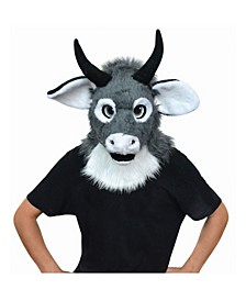 Adult Moving Jaw Bull Mask