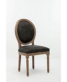 Joy Collection Dining Chair with Nailhead Trim, Set of 2