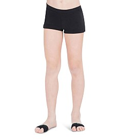 Capezio Little and Big Girls Boys Cut Low Rise Short