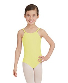 Big Girls Camisole Leotard with Adjustable Straps