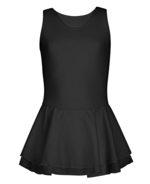 Capezio Big Girls Double Layer Skirt Tank Dress