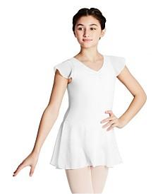 Capezio Little Girls Flutter Sleeve Dress