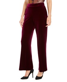 Nine West Pull-On Velvet Pants