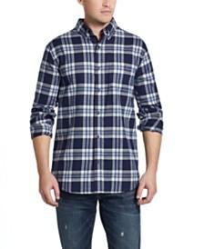 Weatherproof Vintage Men's Brushed Antique Flannel Plaid Shirt