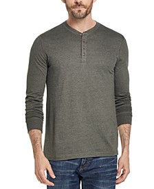 Men's Long Sleeve Jersey Henley