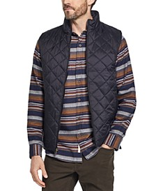 Men's Quilted Moto Zip Jacket