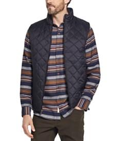 Weatherproof Vintage Men's Quilted Moto Vest