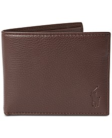 Men's Pebbled Leather Passcase