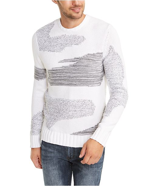 INC International Concepts INC Men's Allan Patterned Sweater, Created For Macy's