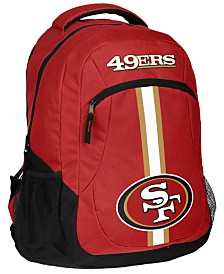 Forever Collectibles San Francisco 49ers Action Backpack