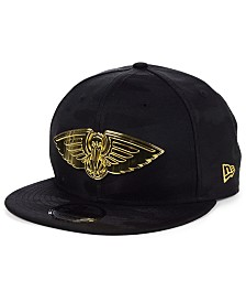 New Era New Orleans Pelicans Stealth Metal 9FIFTY Snapback Cap