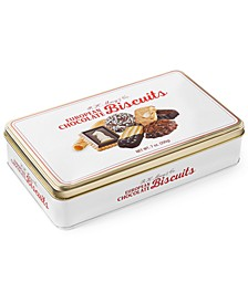 European Chocolate Biscuit Small Tin