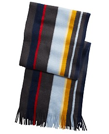 Alfani Men's Striped Scarf, Created For Macy's