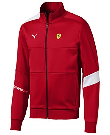 Men's Ferrari Colorblocked Track Jacket