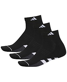 adidas 3-Pk. Men's Cushioned Quarter Socks
