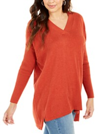 Style & Co V-Neck Tunic Sweater, Created for Macy's