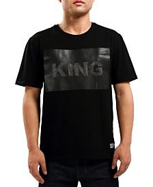 Hudson NYC Men's King Bling Graphic T-Shirt
