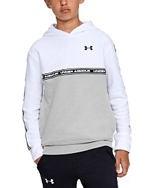 Under Armour Big Boys Sportstyle Colorblocked Fleece Hoodie