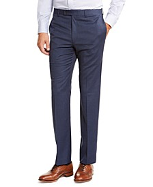 Men's Classic-Fit UltraFlex Stretch Plaid Dress Pants