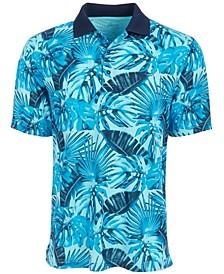 Men's Tropical-Print Polo