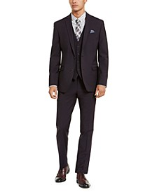 Men's Slim-Fit Active Stretch Solid Suit Separates, Created for Macy's