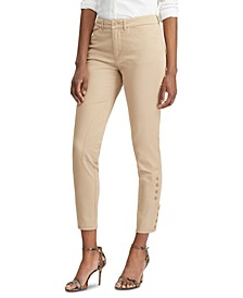 Petite Stretch Chino Skinny Pants