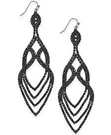 Crystal Point Drop Earrings, Created for Macy's