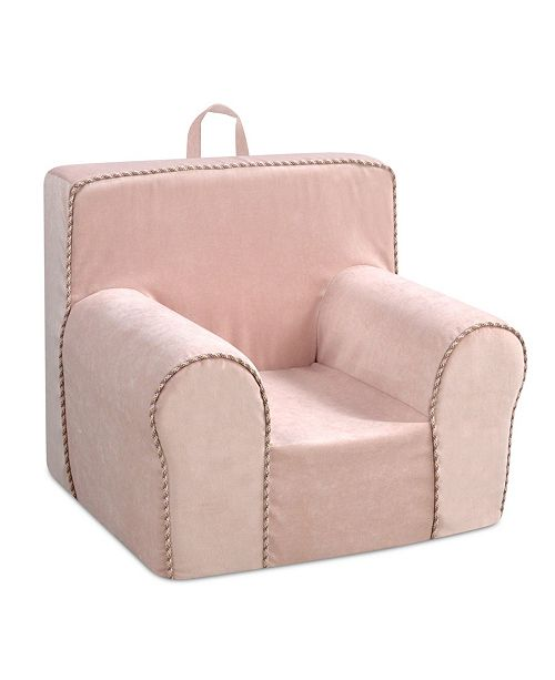 Kangaroo Trading Company Kangaroo Trading Co. Kid's Grab-N-Go Foam Chair, Zamora Blush with Princess Welt