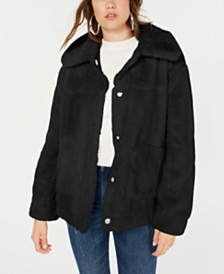 Jou Jou Juniors' Faux-Fur Jacket
