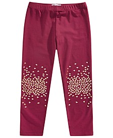 Toddler Girls Glitter Heart Leggings, Created for Macy's