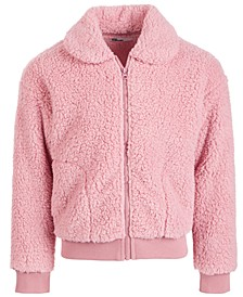 Toddler Girls Solid Fleece Jacket, Created for Macy's