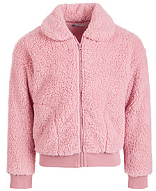 Epic Threads Toddler Girls Solid Fleece Jacket, Created for Macy's
