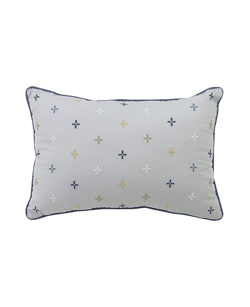 "Croscill Morrison 19"" x 13"" Boudoir Decorative Pillow"