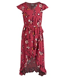 Big Girls Floral-Print Maxi Dress, Created For Macy's