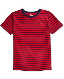 Big Boys Red Stripe T-Shirt, Created For Macy's