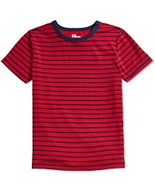 Epic Threads Big Boys Red Stripe T-Shirt, Created For Macy's