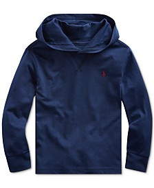 Polo Ralph Lauren Toddler Boys Hooded Jersey Cotton T-Shirt