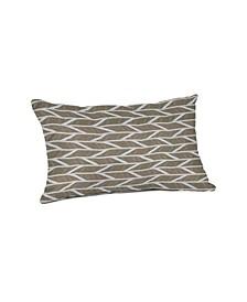 """Outdoor Lumbar Throw Pillow, 19"""" x 12"""""""