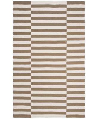 Ludlow Stripe LRL7350C Sepia 9' X 12' Area Rug