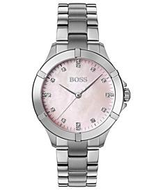 Women's Mini Sport Stainless Steel Bracelet Watch 32mm