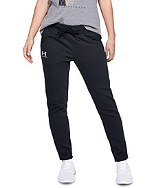 Rival Fleece Open Hem Training Pants