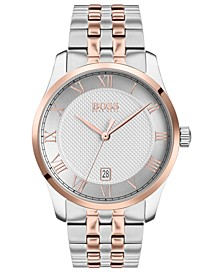 Men's Master Two-Tone Stainless Steel Bracelet Watch 41mm