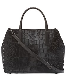 DKNY Ewen Leather Work Tote, Created for Macy's