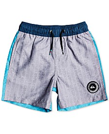 Quiksilver Toddler & Little Boys Colorblocked Swim Trunks